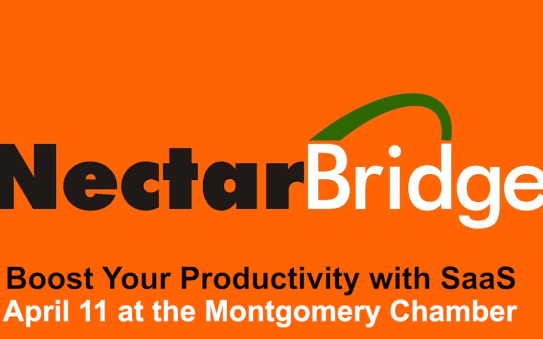 Boost Your Productivity with SaaS – April 11 seminar