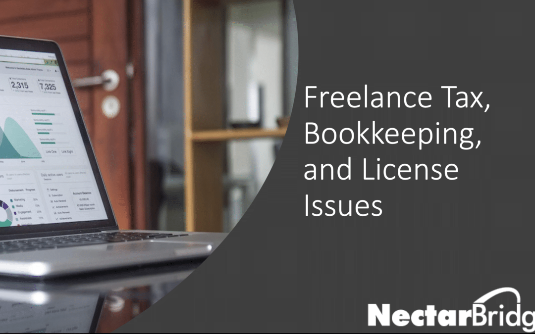 Freelance Tax, Bookkeeping and License Webinar July 16