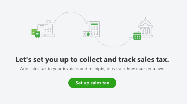 Adding Sales Tax in QuickBooks Online