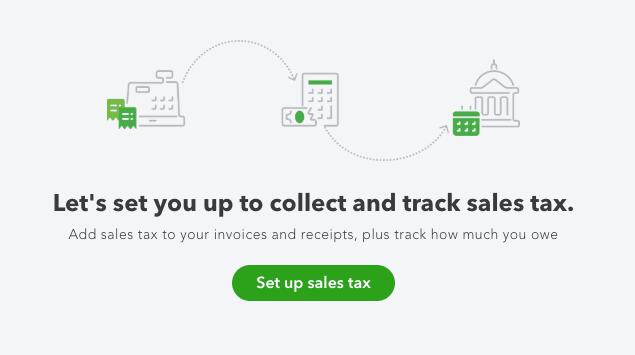 Adding Sales Tax in QuickBooks Online