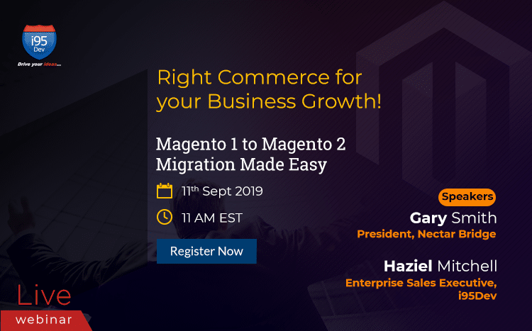 Magento 2 Upgrade webinar September 11