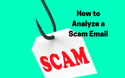 How to Analyze a Scam Email